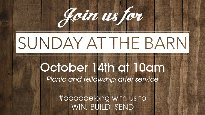Sunday Service at the Barn (New Date)!