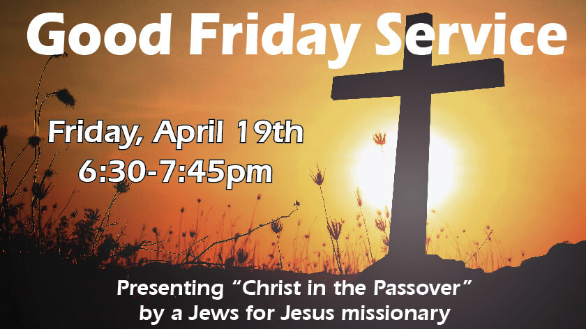 Good Friday - Christ in the Passover
