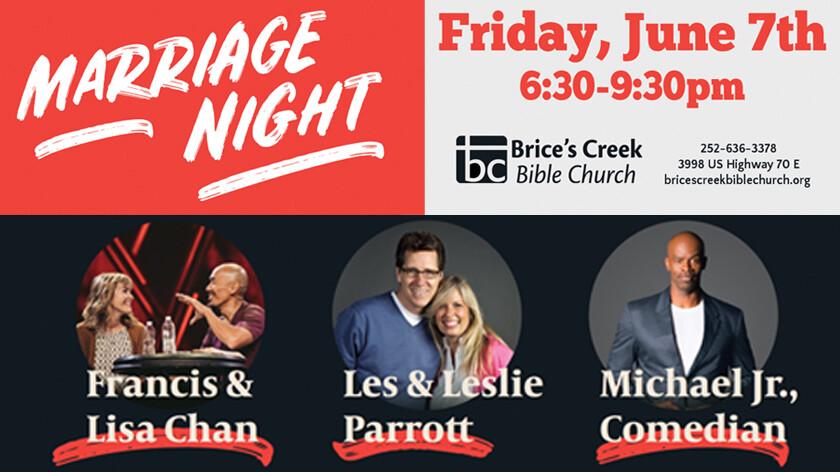 Marriage Night - June 7 - Simulcast